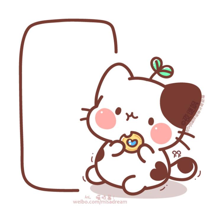 动漫猫咪图片可爱萌_WWW.QQYA.COM