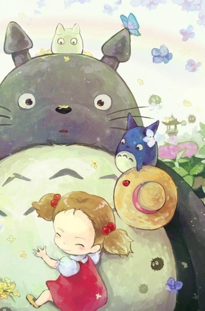 动漫龙猫图片可爱图片_WWW.QQYA.COM