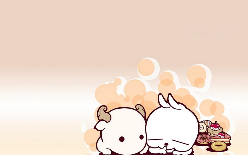 可爱搞怪的流氓兔壁纸图片_WWW.QQYA.COM