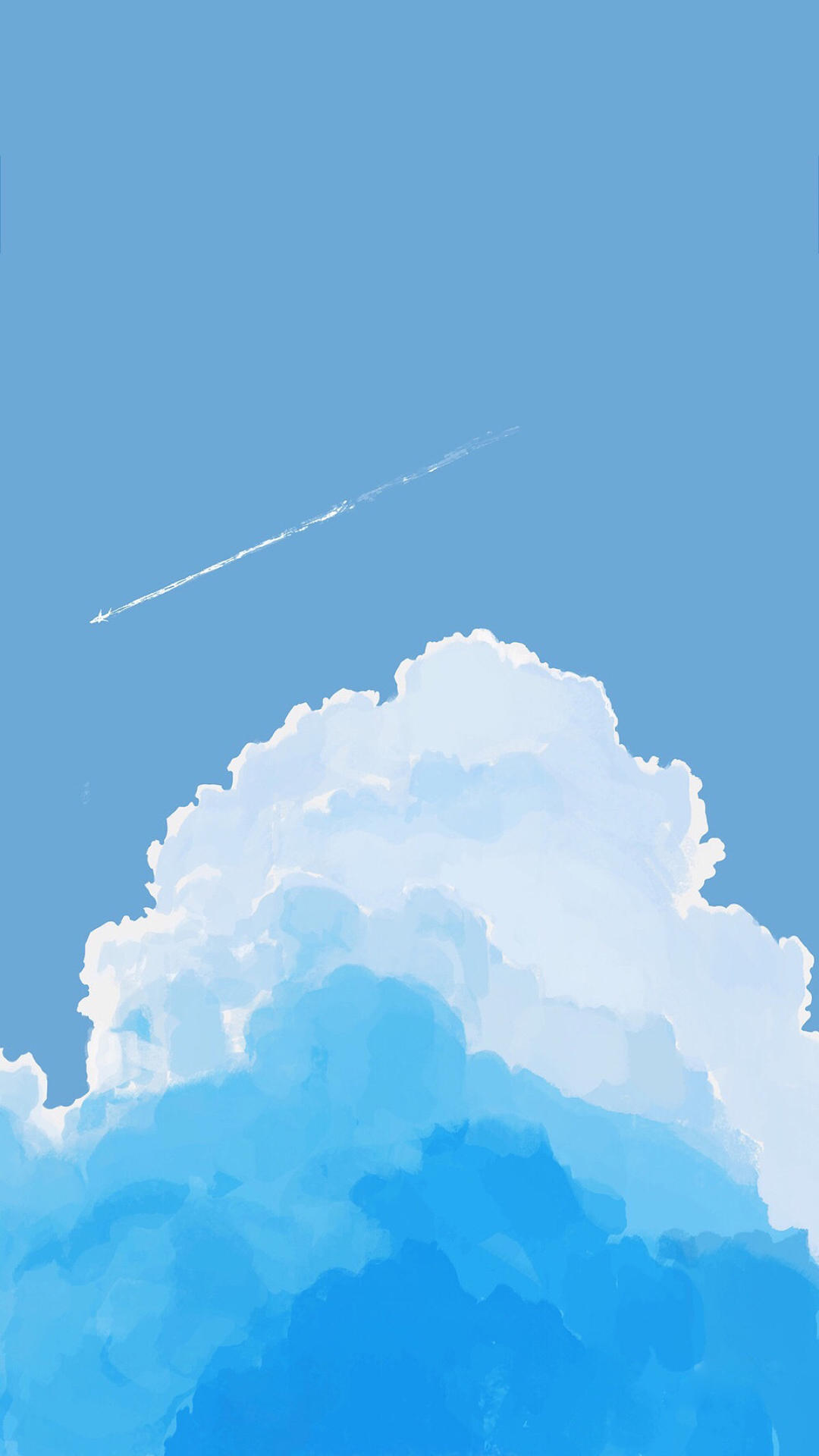 唯美天空动漫图片壁纸_WWW.QQYA.COM