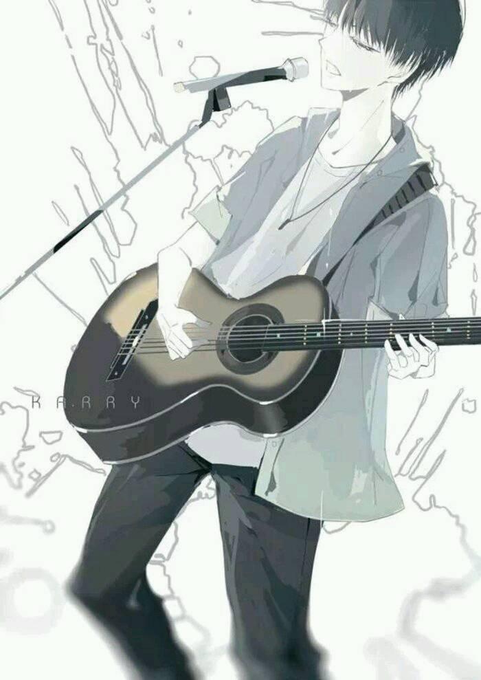 吉他动漫图片_WWW.QQYA.COM