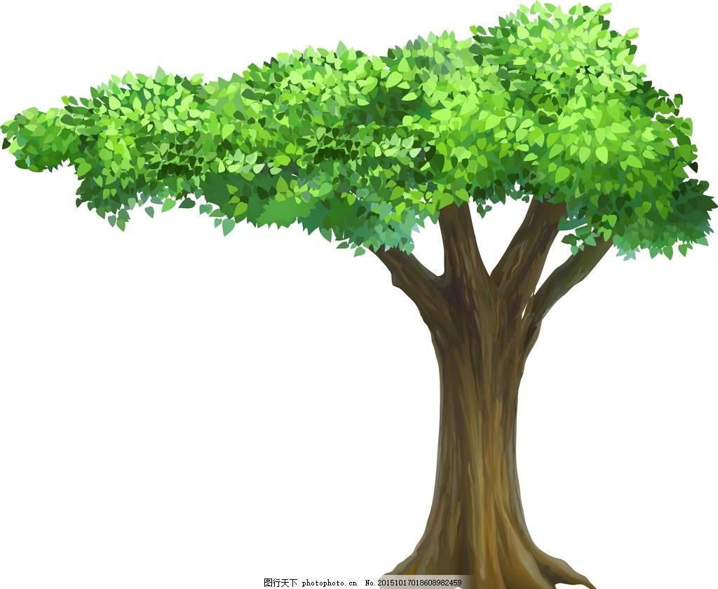 大树的动漫图片_WWW.QQYA.COM