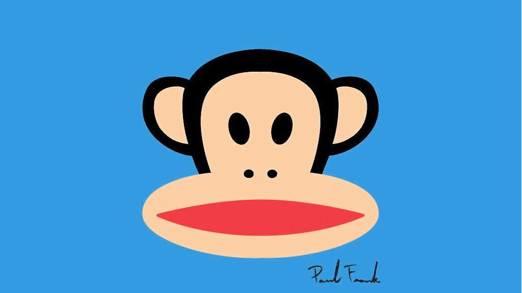 可爱大嘴猴卡通壁纸图片大全_WWW.QQYA.COM