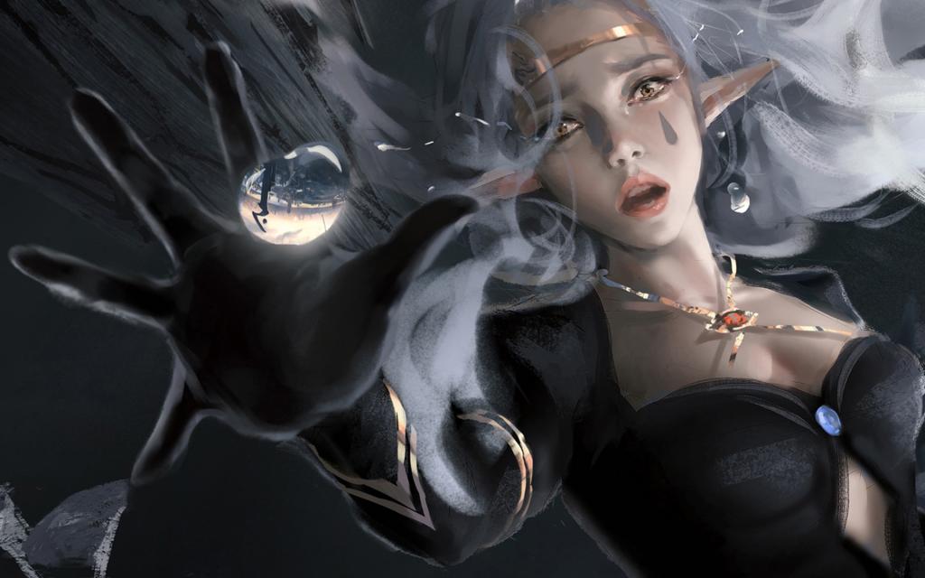 鬼刀冰公主桌面壁纸图片_WWW.QQYA.COM