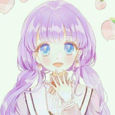 动漫女生图片简单_WWW.QQYA.COM