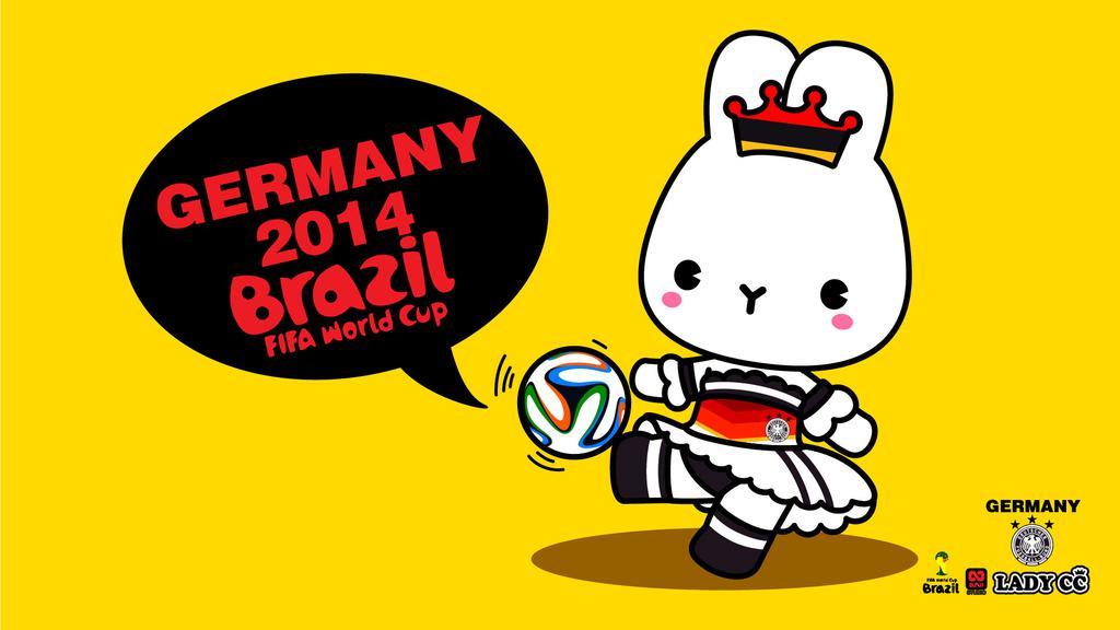 足球世界杯卡通壁纸图片_WWW.QQYA.COM