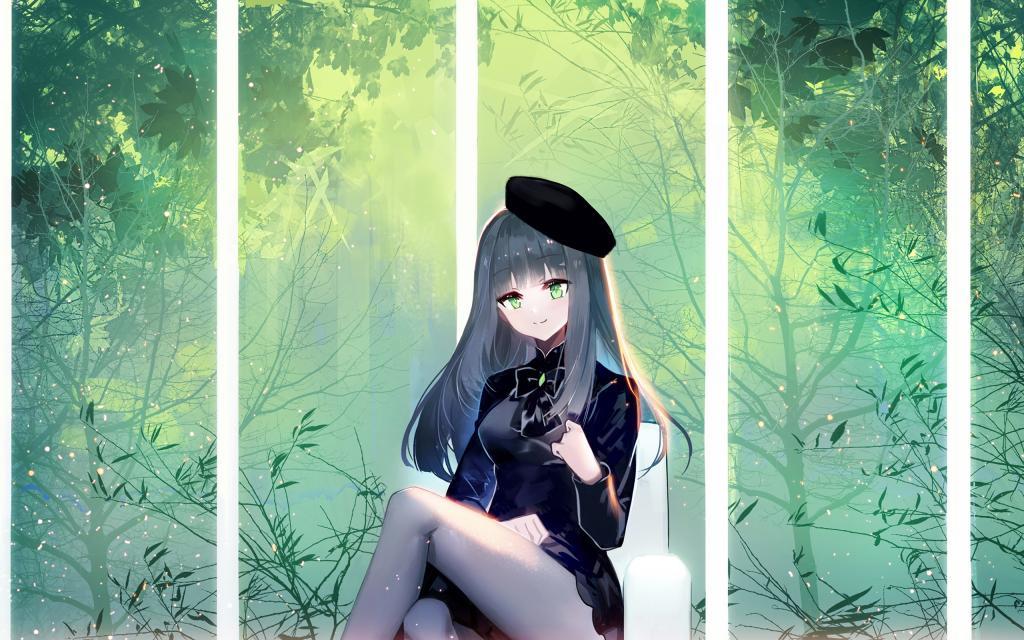 唯美动漫女生卡通壁纸图片_WWW.QQYA.COM